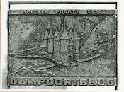 Gent: Dampoortbrug: gedenkplaat: Spitael Poorte,1979