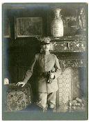 Portret van hertog Albrecht von Württemberg, opperbevelhebber van het Duitse Vierde Leger, 1915-1916