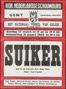 Suiker, Hugo Claus. Het National Toneel Van België. Koninlijke Nederlandse Schouwburg, Gent, 27 maart / 31 maart 1960