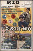 O Sole Mio, Rio, Gent, 7 - 10 juli 1961