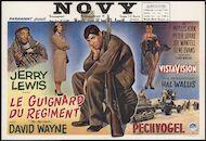 The Sad Sack | Le guignard du régiment | Pechvogel, Novy, Gent, 17 - 23 april 1959