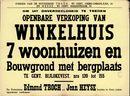 Openbare verkoop van winkelhuis, 7 woonhuizen en bouwgrond met bergplaats te Gent, Bijlokevest, nrs.139 tot 155, Gent, 5 december 1961