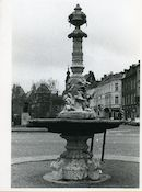 Gent: Oude Beestenmarkt: Fontein