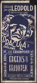 Dracula's spelonk (film 1), Ergens in Frankrijk (film 2), Cinema Leopold, Gent, 2 - 8 juni 1959