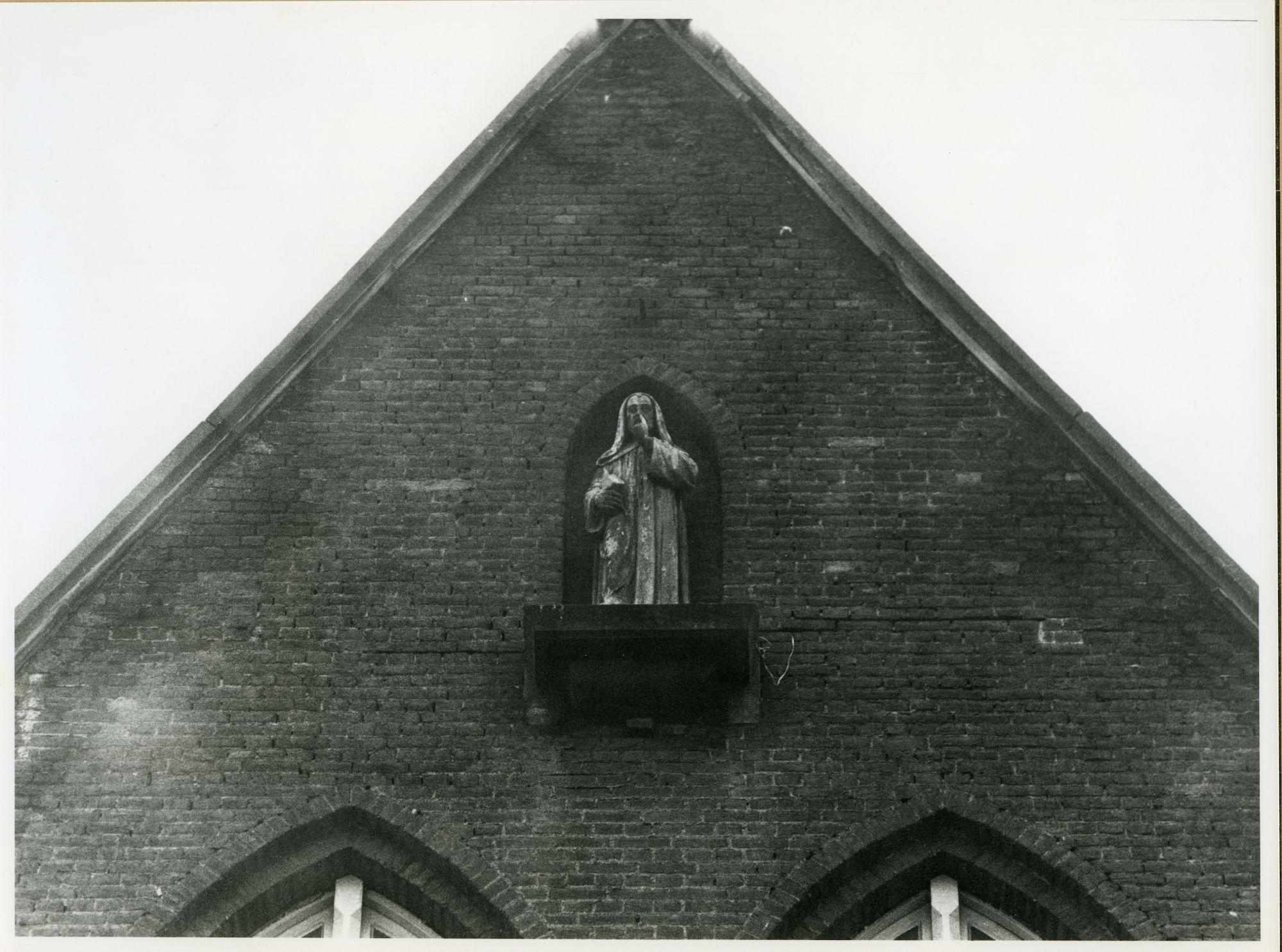 Gent: Sint Margrietstraat 35: Gevelbeeld