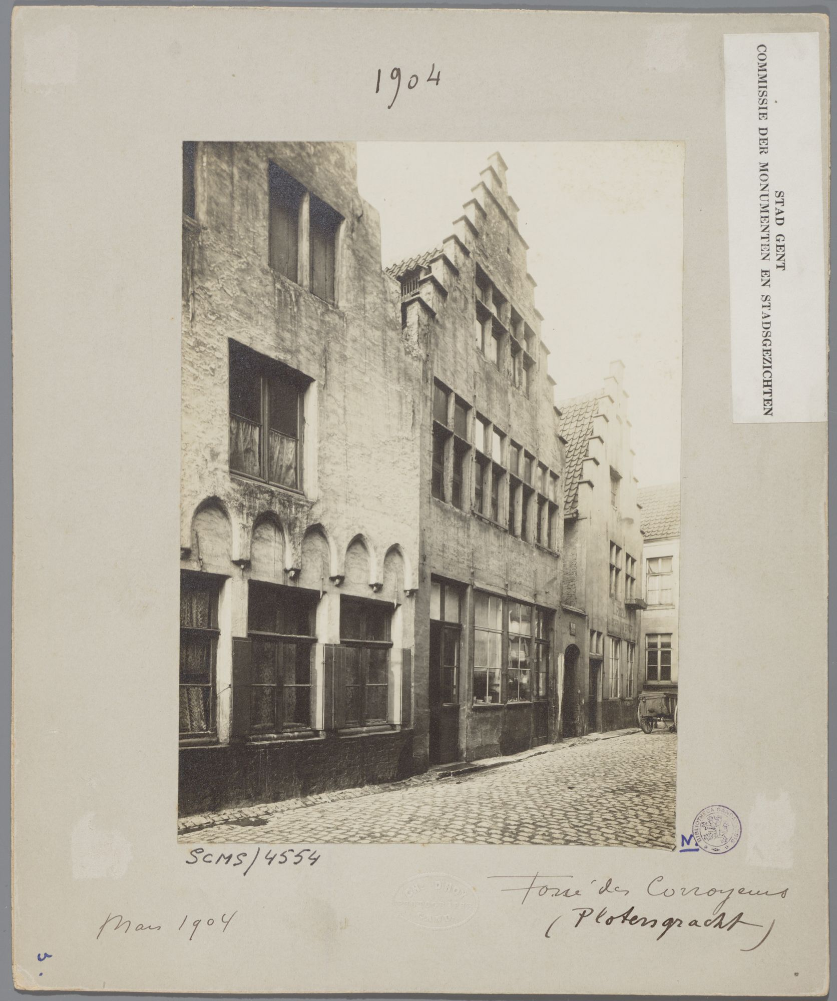 Gent: Trapgevelhuizen, Plotersgracht