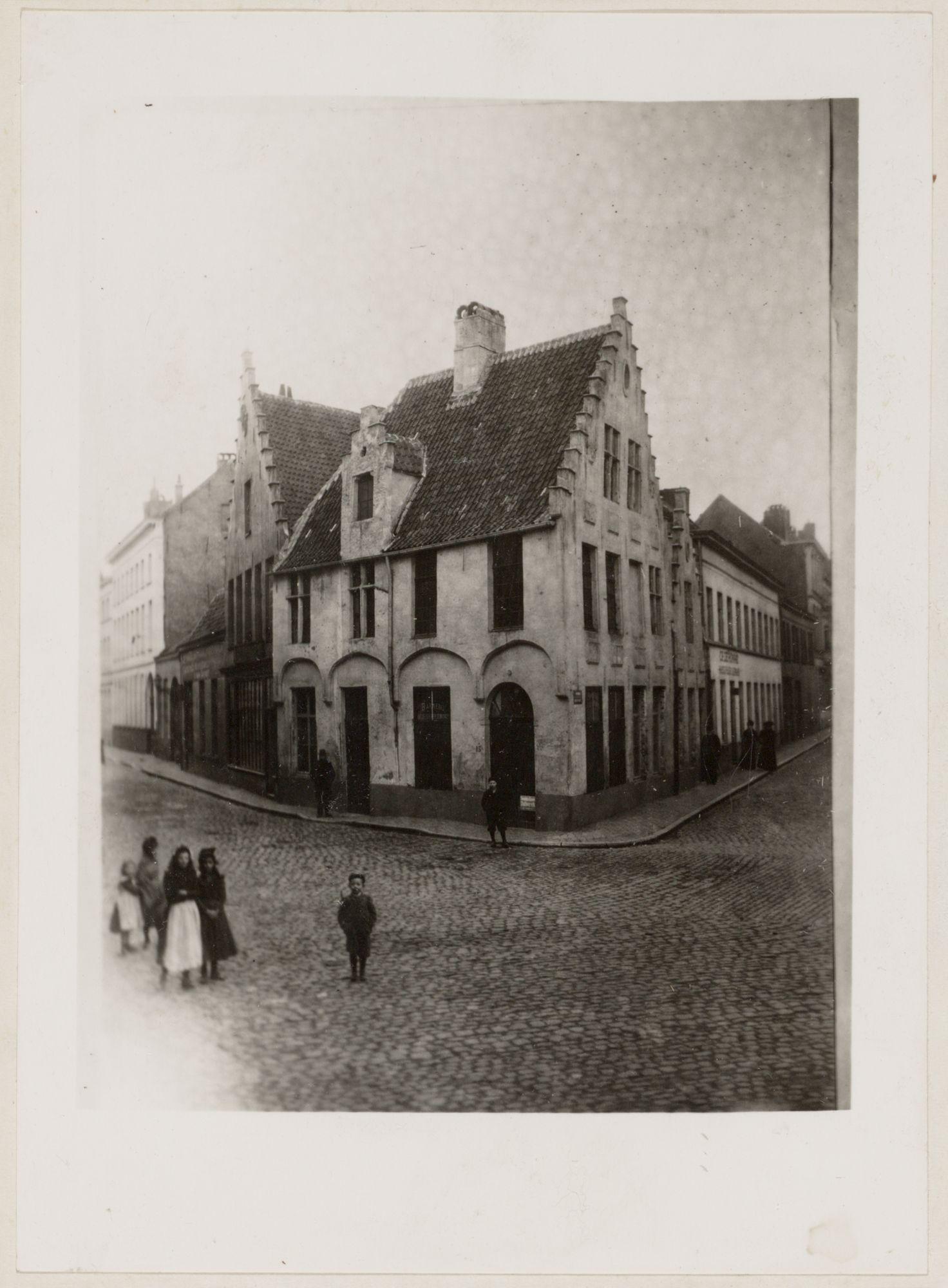Gent: Bakkerij, hoek Gildestraat en Houtbriel
