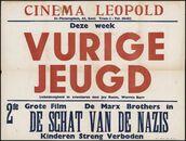 Vurige Jeugd (film 1), De schat van de nazis (film 2), Cinema Leopold, Gent, juni 1949