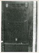 Gent: Veldstraat: Gedenkplaat, 1979