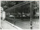 Gent: Ferdinand Lousbergkaai: Koningin Astridpark: hekken, 1979