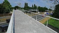 fietsbrug over E40  (Zoé Borluutbrug)