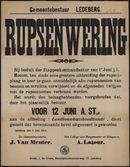 Gemeentebestuur Ledeberg, Rupsenwering.