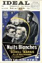 Nuits Blanches | Witte nachten, Ideal, Gent, 2 - 8 mei 1958