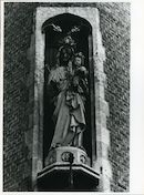 Gent: Oude Houtlei: Gevelbeeld