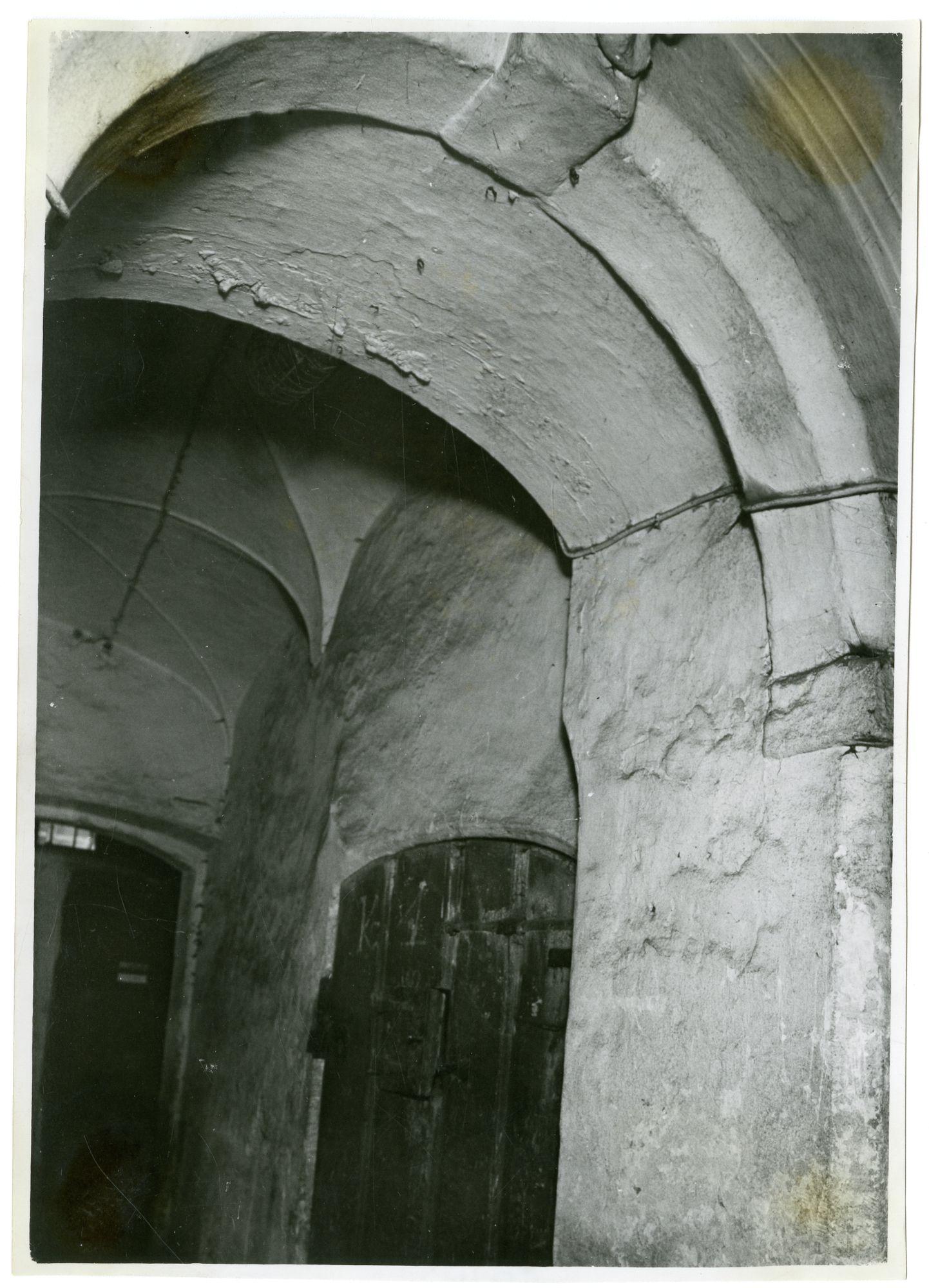 Gent: Onderbergen: Pand: Voormaig Dominicanenjklooster. Klein Pand
