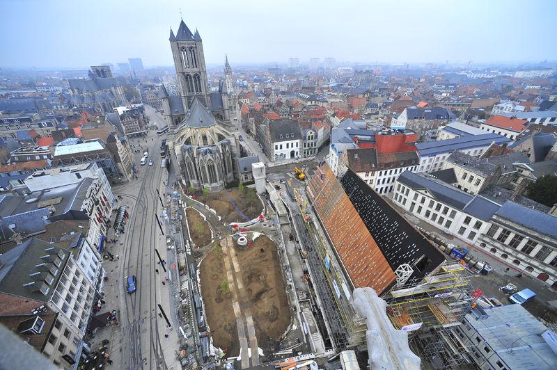 Werken Stadshal