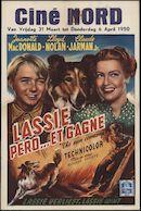 The Sun Comes Up | Lassie perd… et gagne | Lassie verliest, Lassie wint, Nord, Gent, 31- 6 april 1950