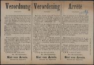 Verordnung | Verordening | Arrêté