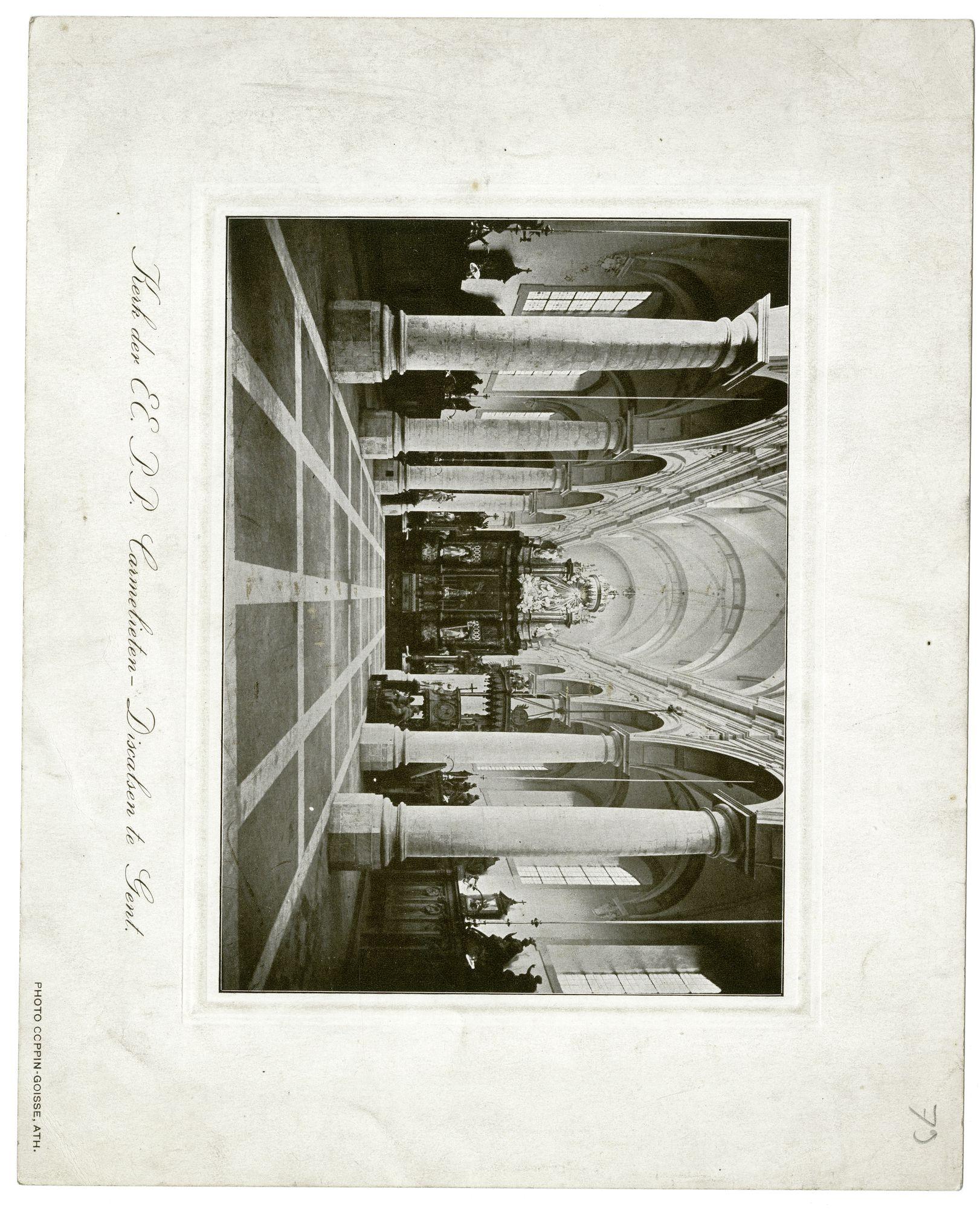 Gent: Kerk Karmelieten Burgstraat
