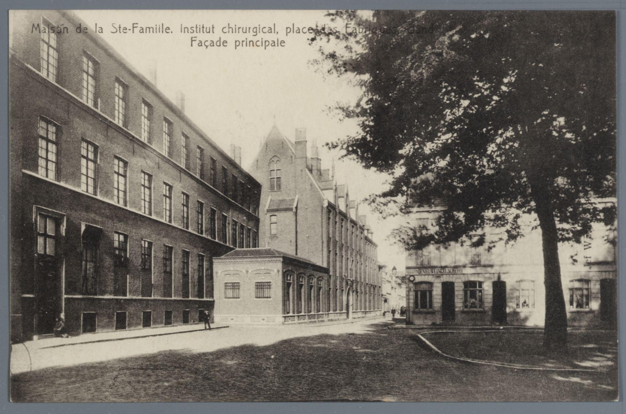 Gent: Fabriekplein: ziekenhuis Heilige Familie