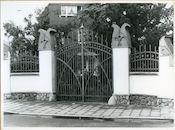 Sint-Amandsberg: Alfons Braeckmanlaan: Hek, 1979