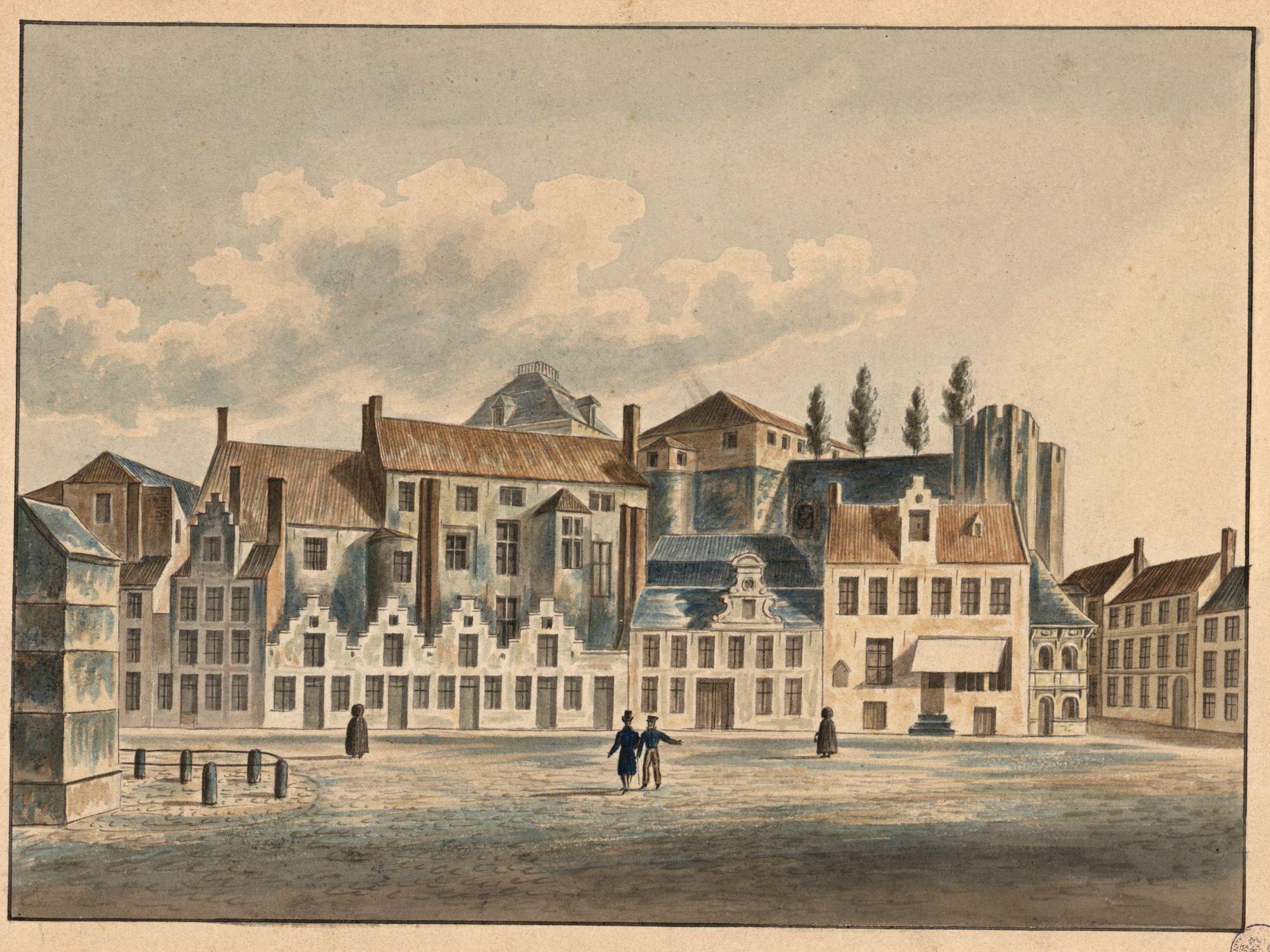 Gent: Sint-Veerleplein en Gravensteen