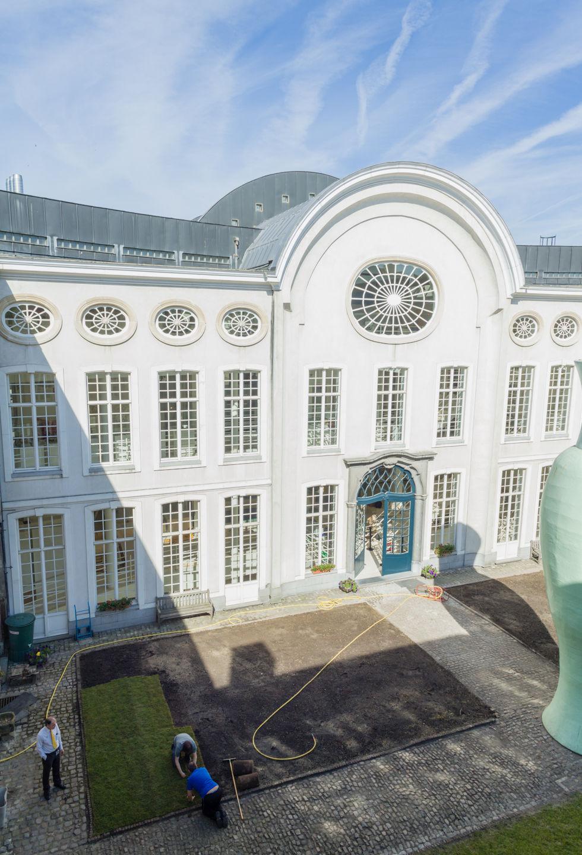 Design Museum Gent - binnentuin