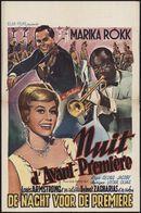 Nuit d'avant-première   De nacht voor de premiere, [Plaza], [Gent], oktober 1959