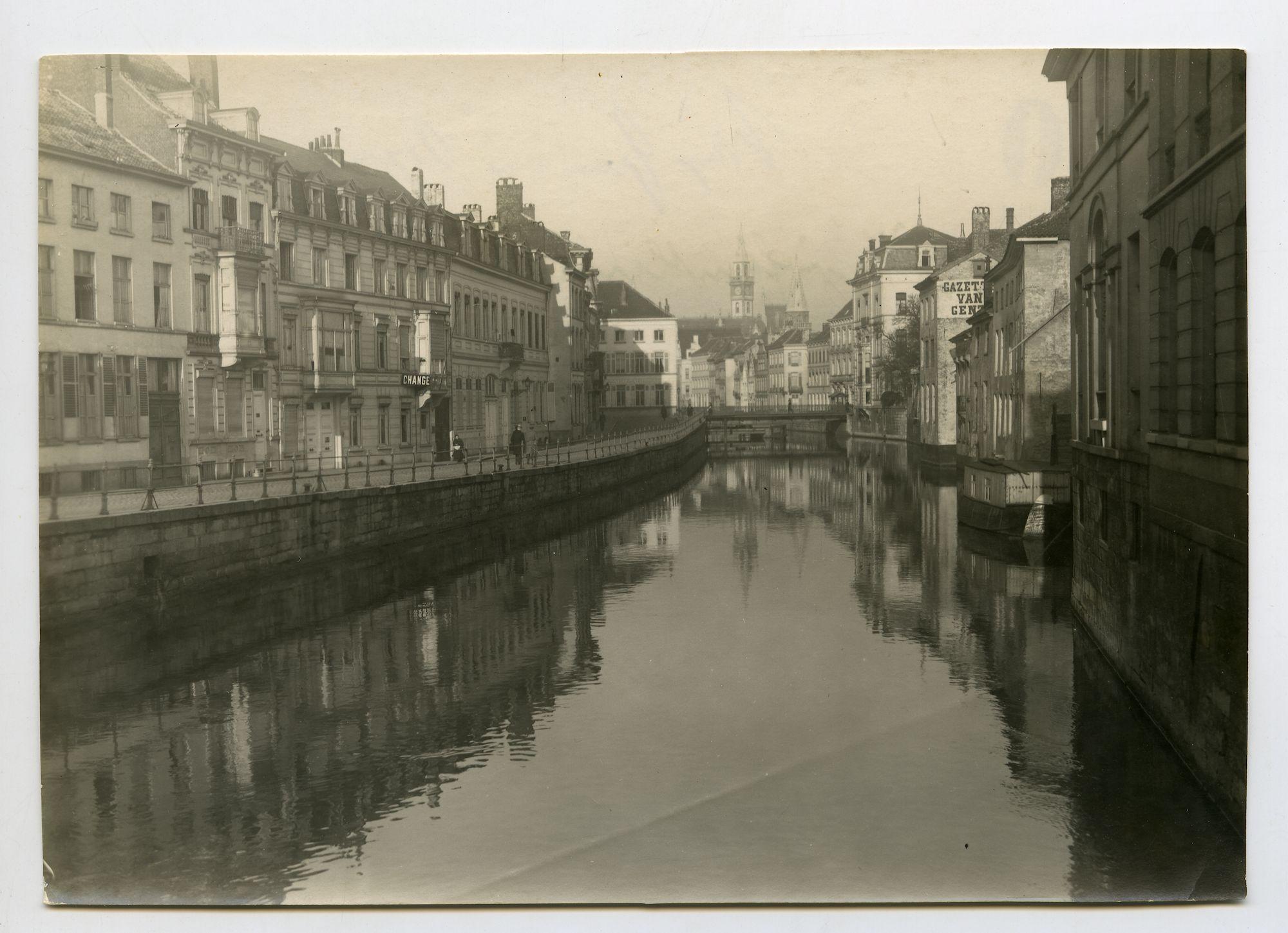 Gent: Ajuinlei, 1915-1916