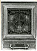 Gent: Ham 123: voordeur: detail