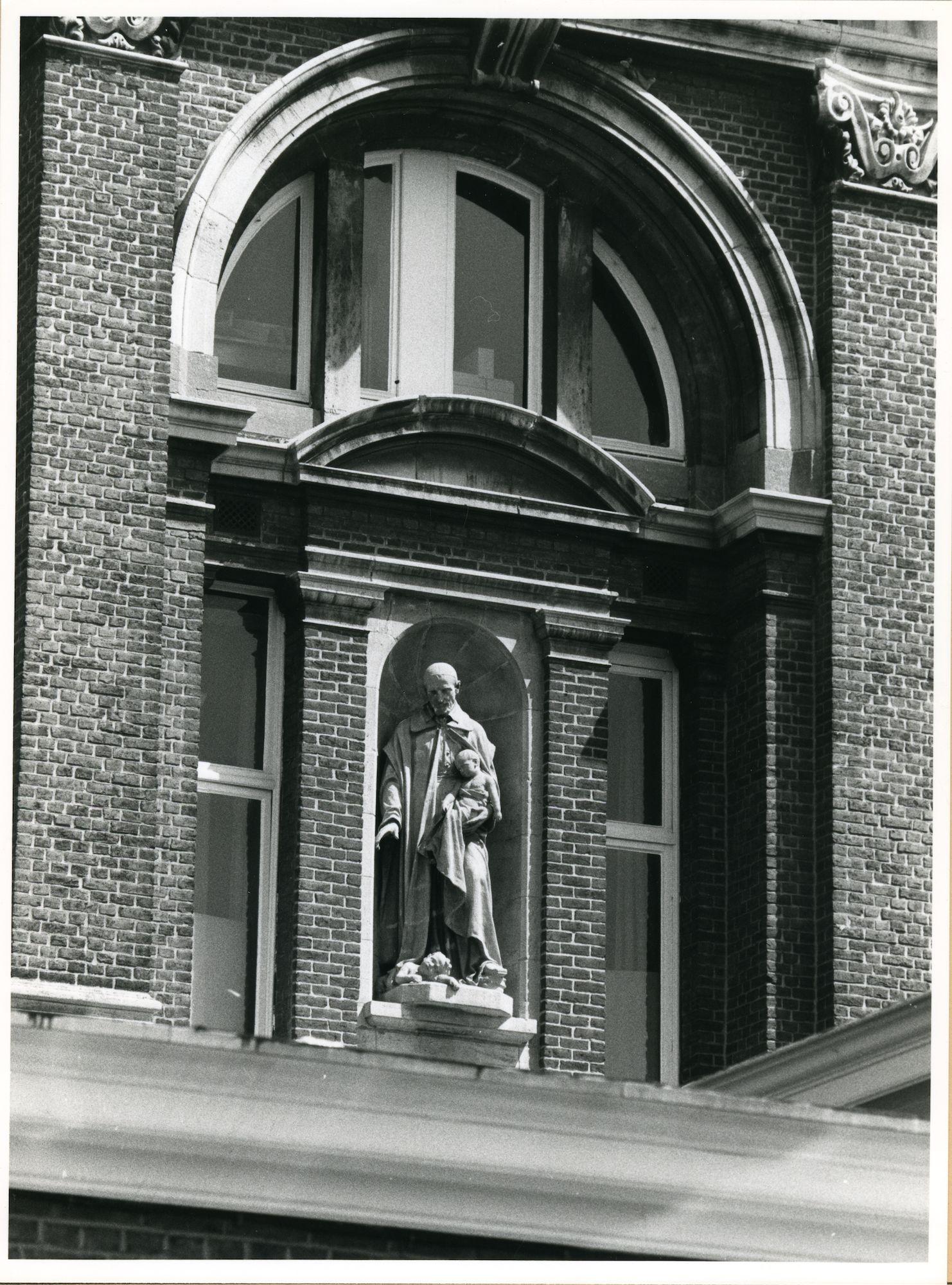 Gent: Stropstraat 119: Gevelbeeld, 1980