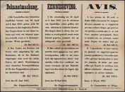 Bekanntmachung   Kennisgeving   Avis.