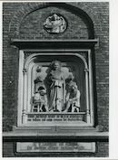 Gent: Oude Houtlei: Beeldhouwwerk