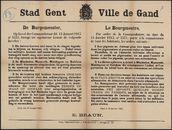 Stad Gent | Ville de Gand.