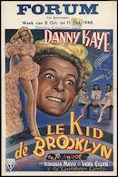 Le kid de Brooklyn, Forum, Gent, 8 - 11 oktober 1948