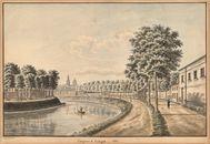 Gent: Coupure met zicht op Entrepot en Sint-Pietersabdij