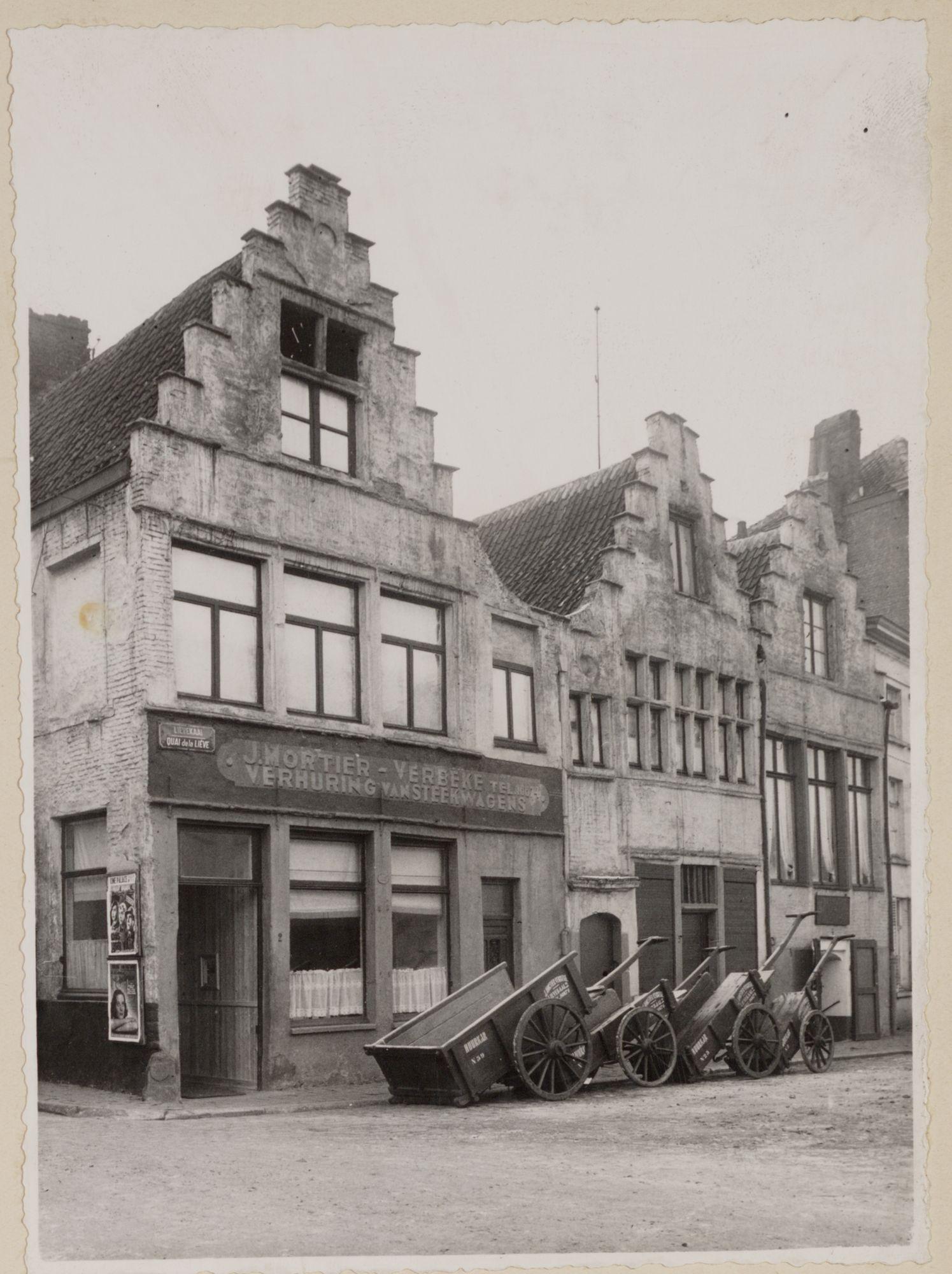 Gent: Trapgevelhuizen, Lievekaai