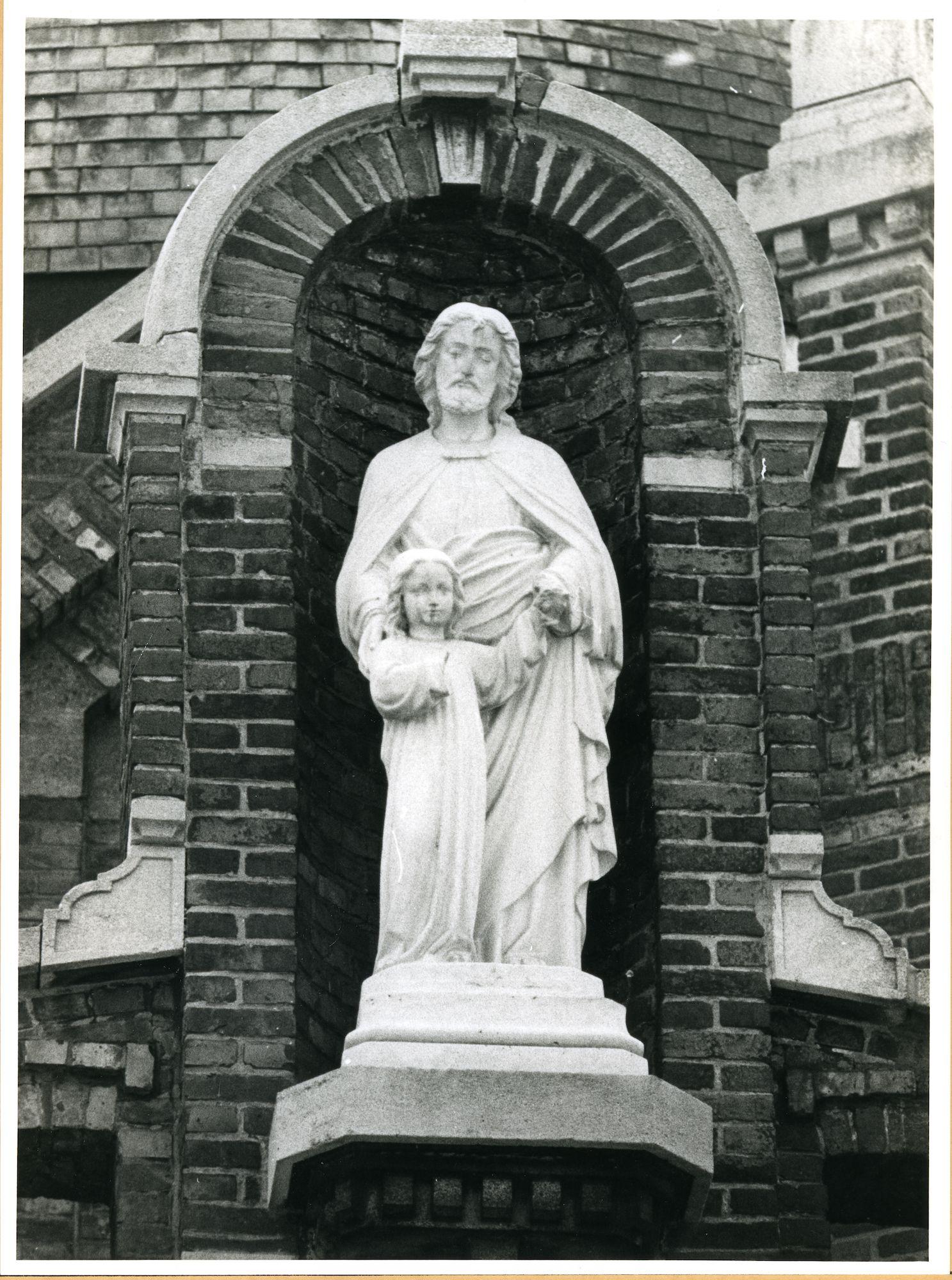 Oostakker: Gasthuisstraat: Gevelbeeld, 1979