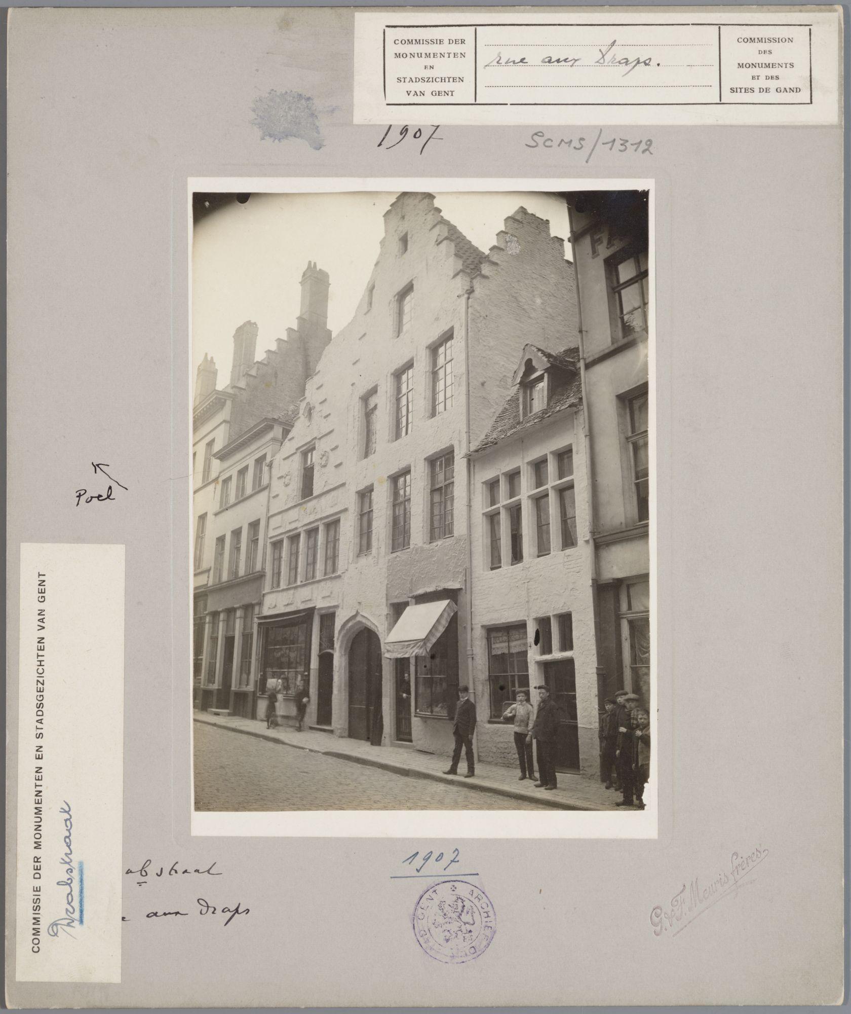 Gent: Trapgevelhuizen, Drabstraat