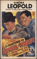 Les aventures de Laurel et Hardy | De avonturen van den dikke en den dunne, Cinema Leopold, Gent, 31 januari - 6 februari 1947