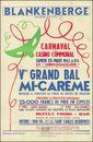 Blankenberge, la plage qui plaît. Carnaval, Cinquième Grand Bal Mi-Carême masqué et travesti ou tenue de soirée de rigueur, Casino Communal, Blankenberge, 1947