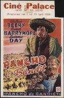 Bad Man   Pancho le bandit   Pancho de bandiet, Palace, Gent, 7 - 13 april 1950