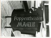 Gent: Haspelstraat 39: uithangbord: tovenaar, 1979