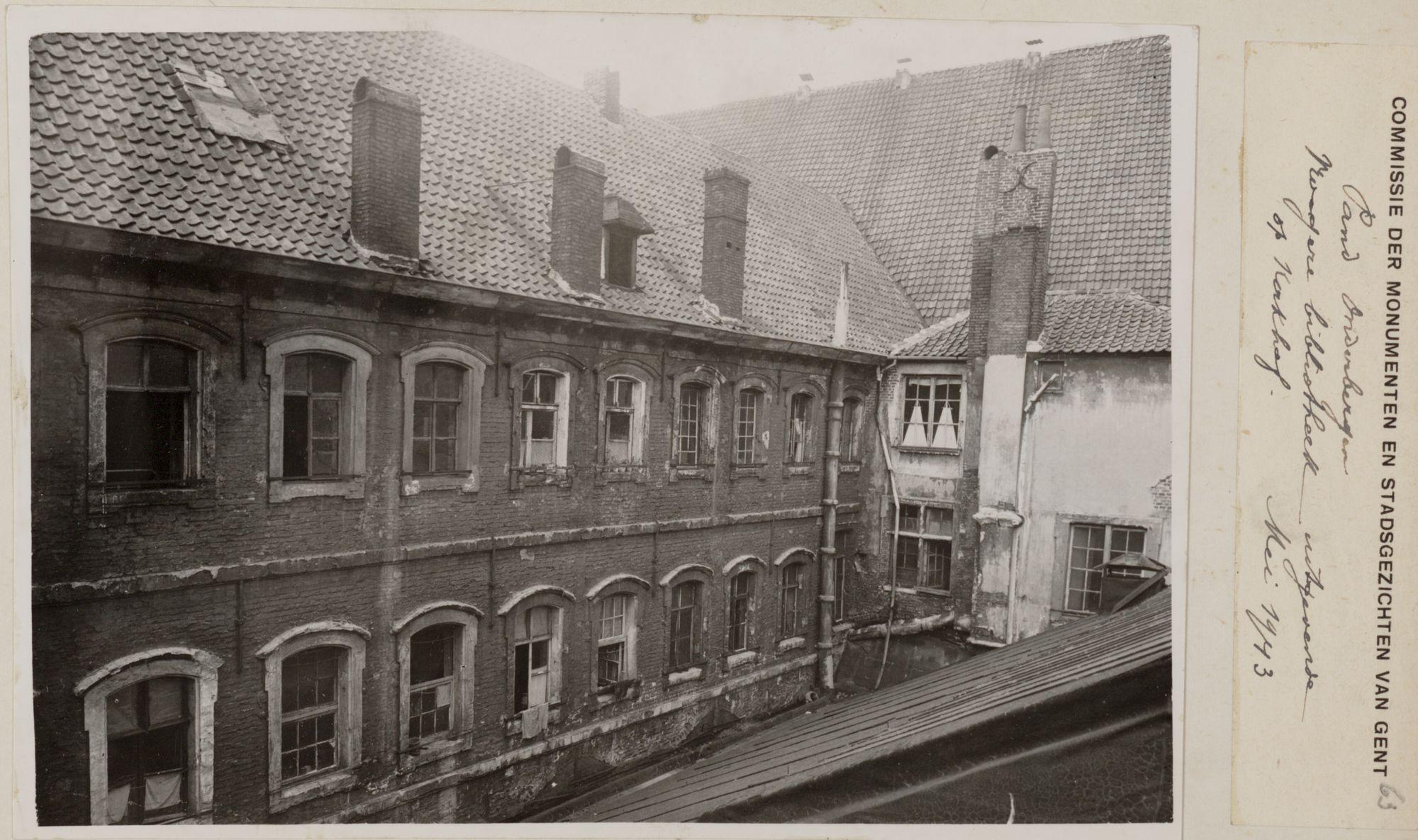Gent: Dominicanenklooster (Het Pand), Onderbergen