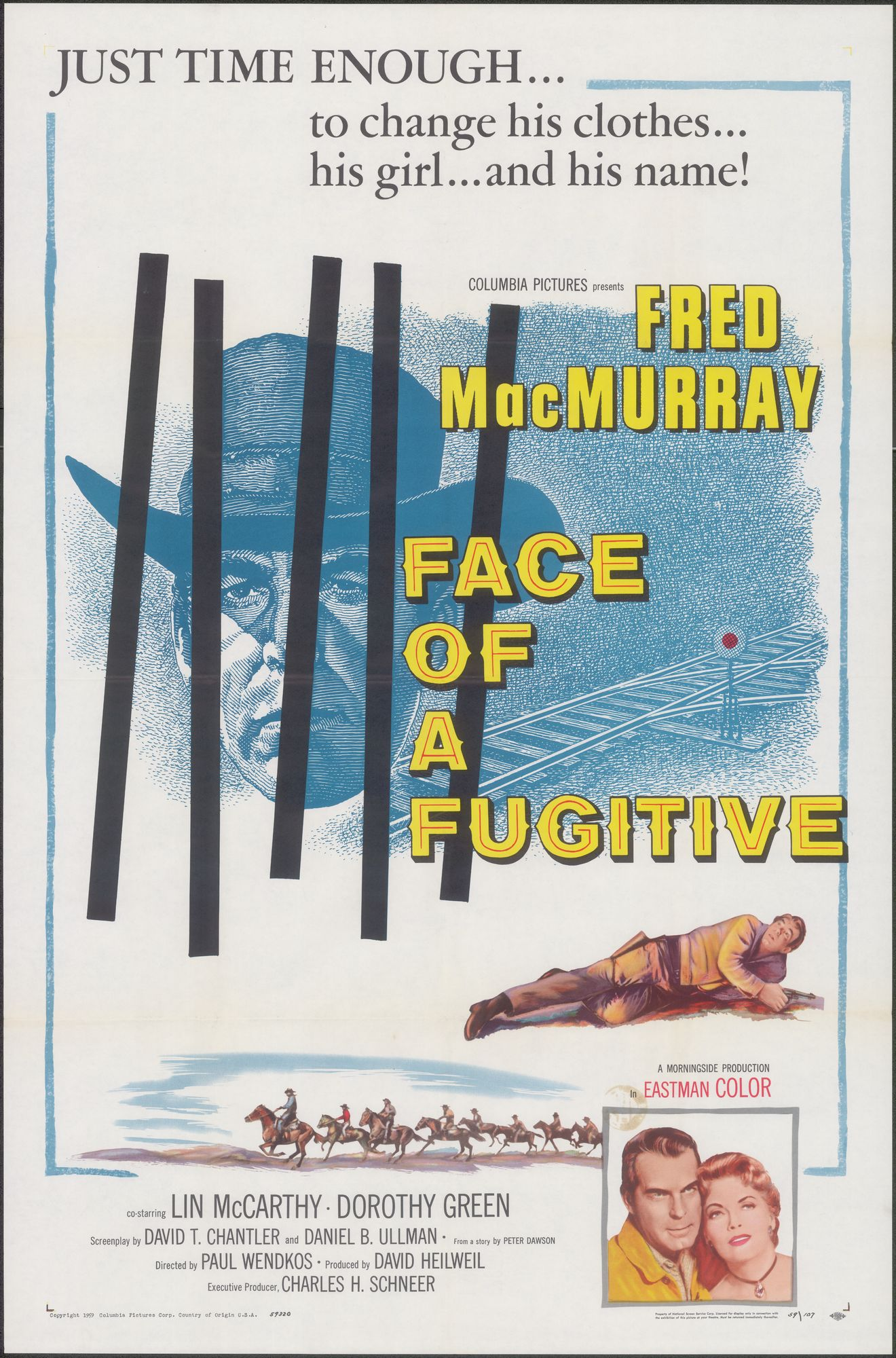 Face of a Fugitive, 1960