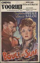 Boule de suif   Zij werd een grote dame, Vooruit, Gent, 14 - 20 maart 1947