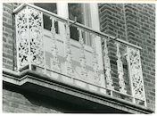 Gent: Theresianenstraat 22: Balkon