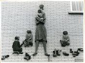 Gent: Nieuwland 9: Beeldhouwwerk