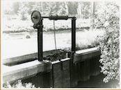 Gent: Griendijk: sluis, 1979