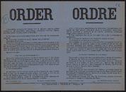 Order   Ordre.